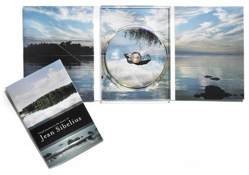 Jean Sibelius DVD with archipelago photos