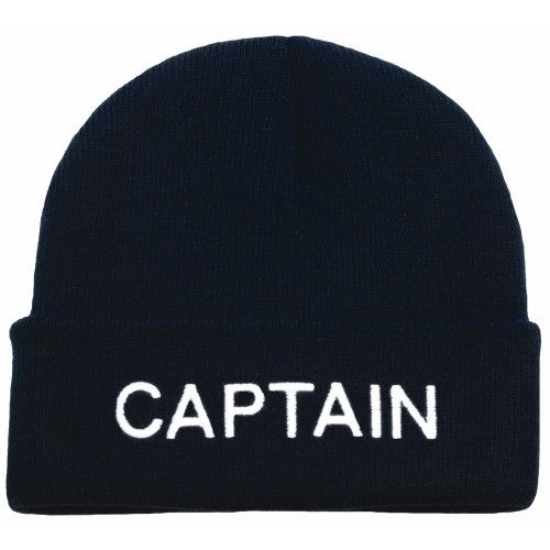Captain knitted hat