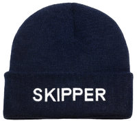 Skipper knitted hat