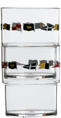 Regatta Stackable Tumblers Polycarbonate 12 pack