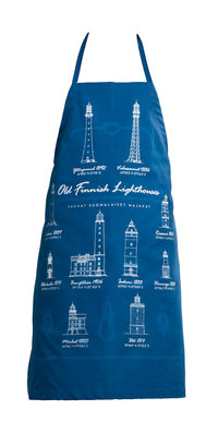 Old Finnish lighthouses apron