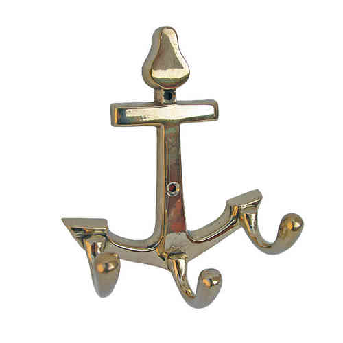 Anchor coat rack