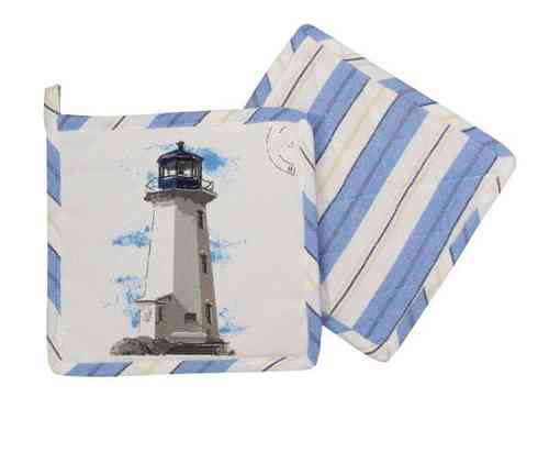 Pot holder lighthouse