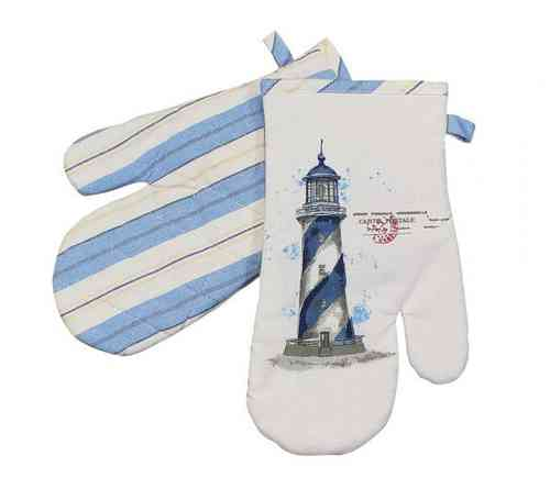 Oven mitten lighthouse