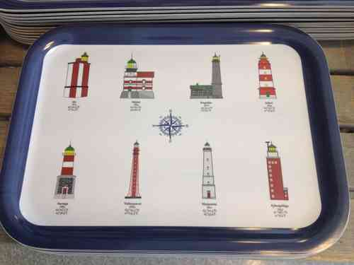 Tray Finnish Lighthouses 20x27cm