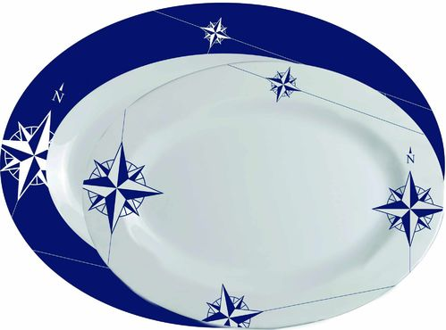 Northwind oval serving dish set 2un