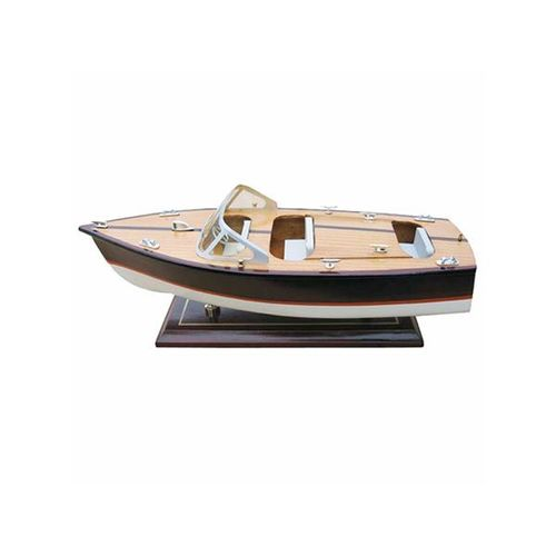 Italian runabout boat