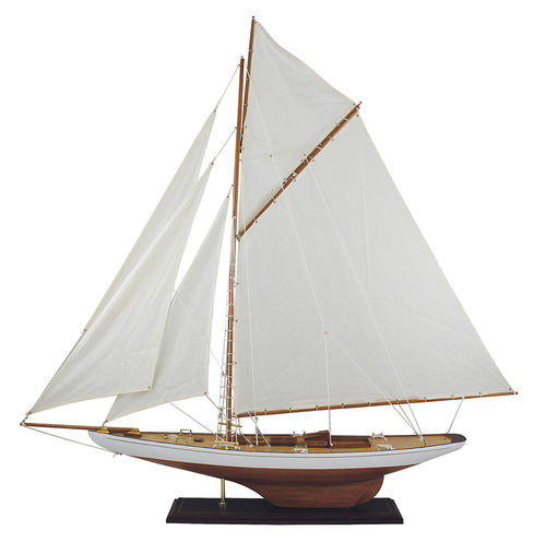 Wooden sailing yacht 120x120 cm