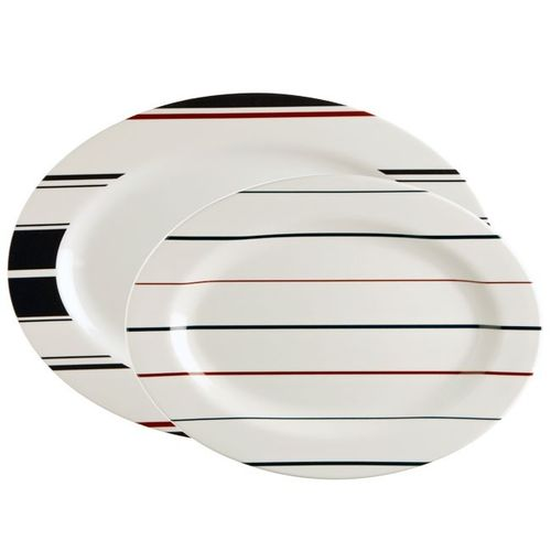 Monaco oval serving dish set