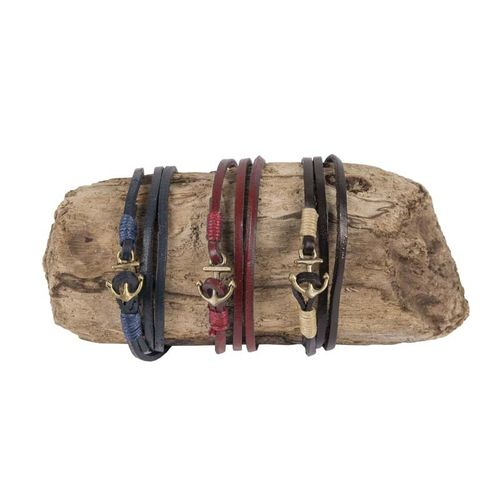 Leather bracelet 53 cm