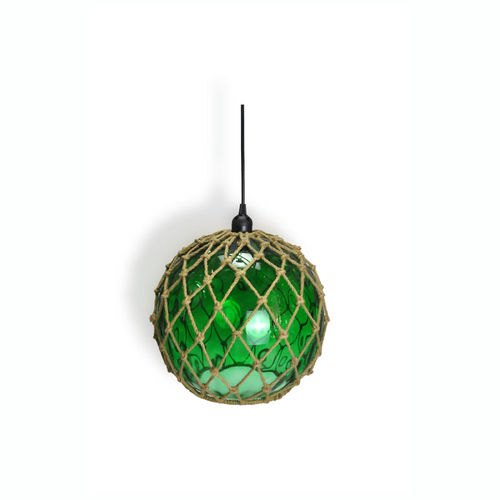 Hanging-lamp green buoy