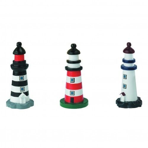 Lighthouse wooden 10 cm