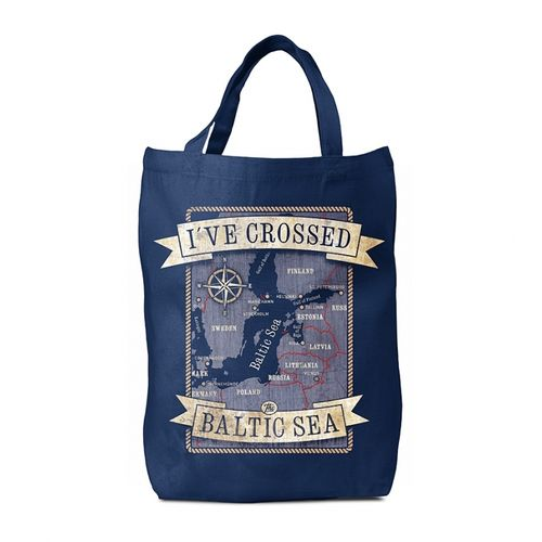 I`ve crossed the Baltic Sea bag