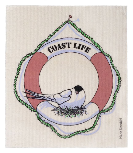 Dish cloth Coast Life