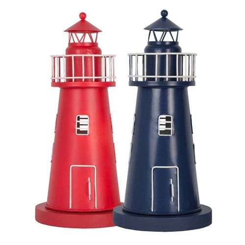Lighthouse lamps pair, 33 cm