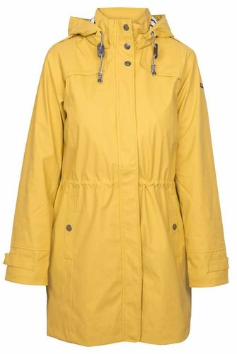 Women long raincoat with cotton lining