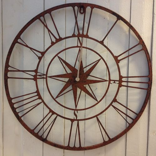 Wall Clock Rose of the Winds