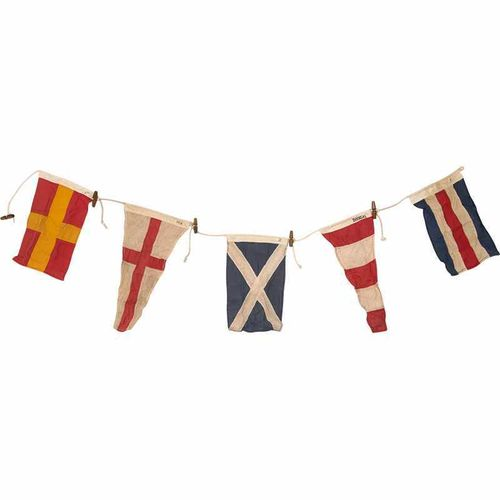 GARLAND 5 FLAGS, L:130cm H19cm