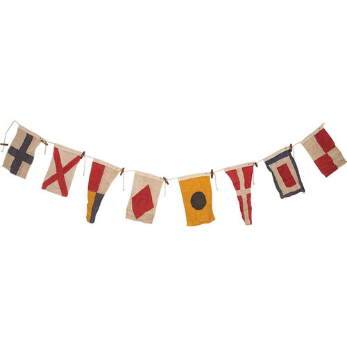 GARLAND 8 FLAGS, L:200cm H19cm