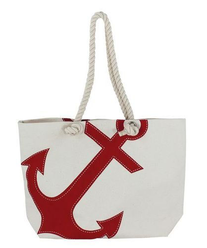 Bag with red anchor