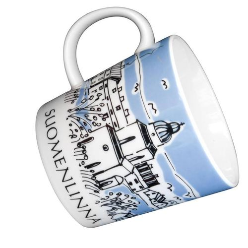 Suomenlinna lighthouse mug