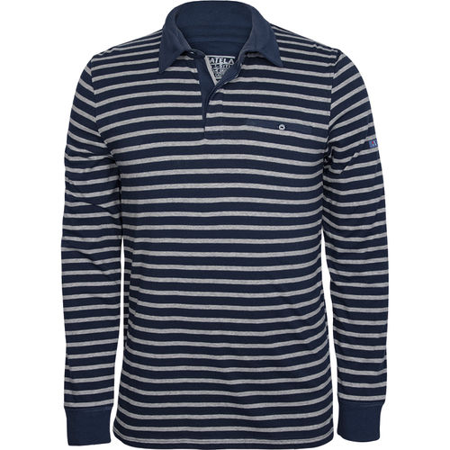 Men's long-sleeved shirt with a collar