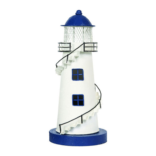 White Lighthouse electrified 30 cm