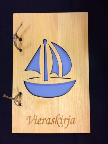 Guest Book Sailing Boat