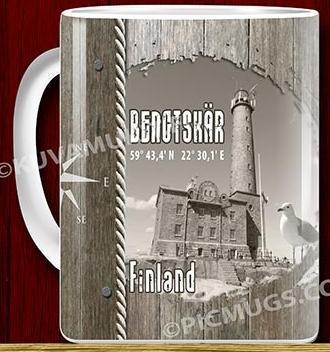 Bengtskär lighthouse mug 0,33l