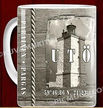 Utö lighthouse mug 0,33l