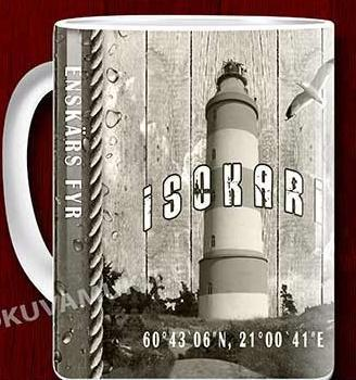 Isokari lighthouse mug 0,33l
