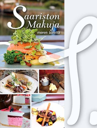 Saariston makuja recept book in Finnish