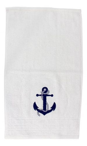 Guest towel with anchor, 30 x 50 cm