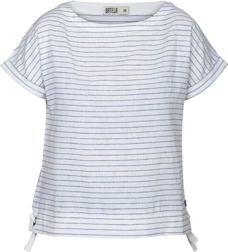 Linen-cotton t-shirt for women
