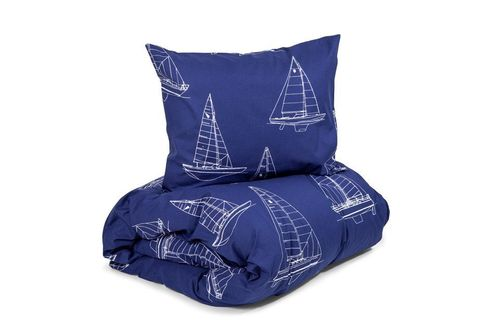 Duvet cover set Sailing navy