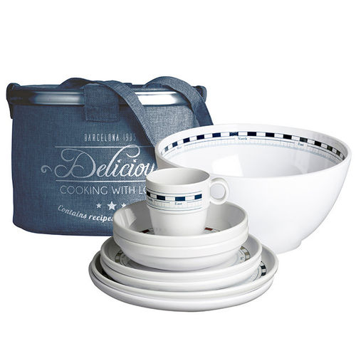 Mistral tableware back for four