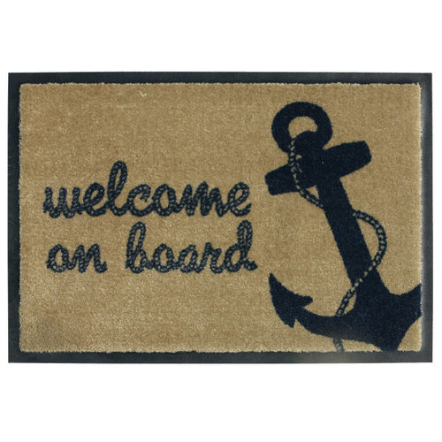 Welcome Rope entrance mat