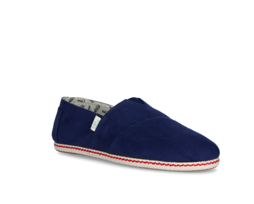 Men's canvas shoes blue