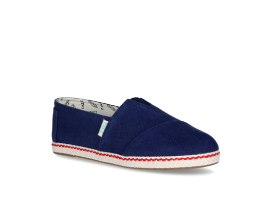 Women's canvas shoes blue