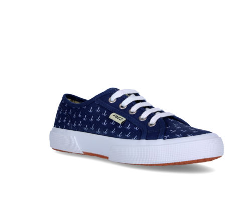 Women's sneakers with anchor print
