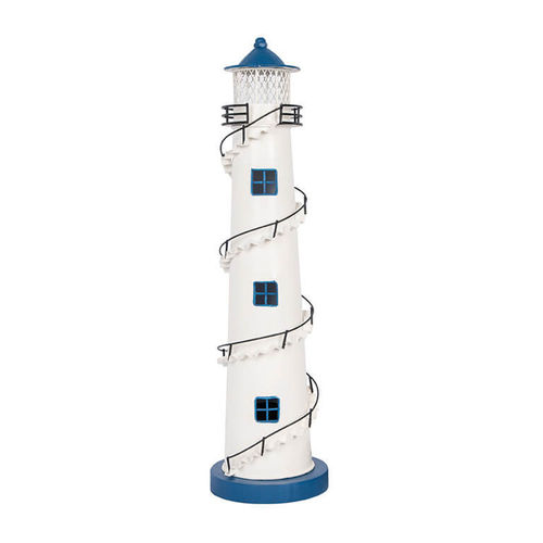 Lighhouse lamp with staircase 48cm