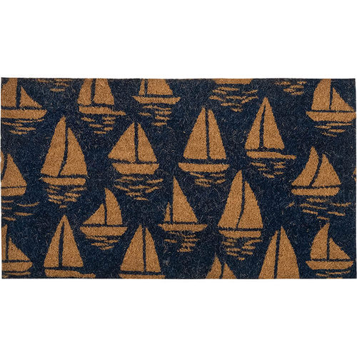 Doormat Sailing Boats