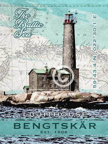 Bengtskär lighthouse poster