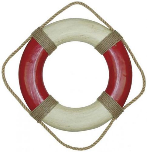 Painted Lifebelt with Rope big