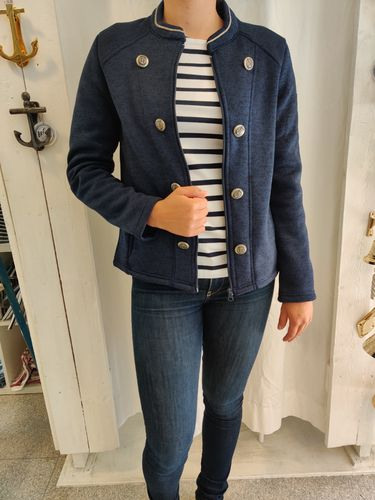 Women's admiral fleece jacket