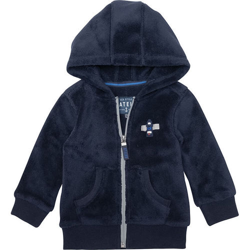Sweatshirt with zipper for babies