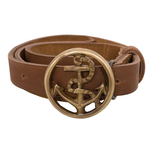 Belt in leather women