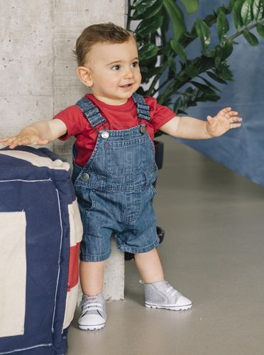 Denim overalls for children