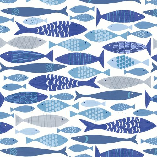 Shoal of Fish -pappersservetter