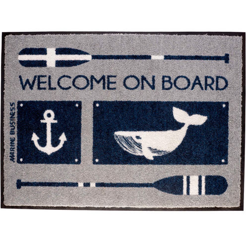 Welcome on board-mat